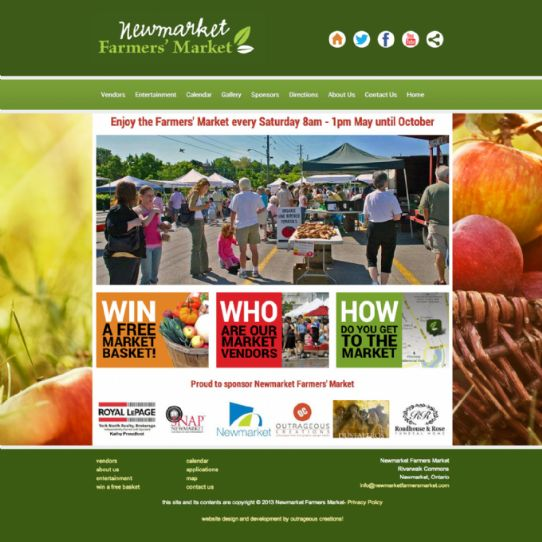 Newmarket Farmers Market - Local farmers market in Newmarket Ontario