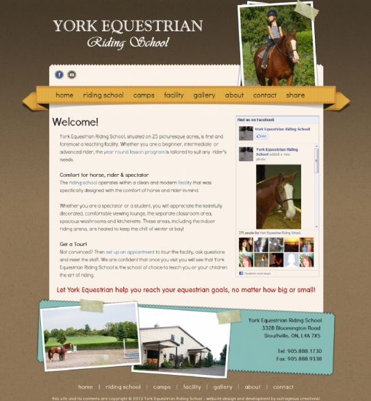 York Equestrian Riding School